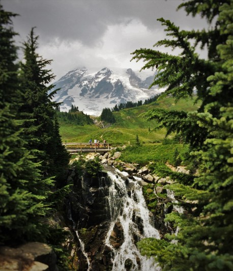 Mt Rainier Myrtle Falls 1