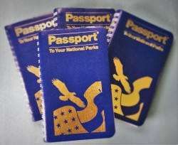 Stack of National Park Passports 1