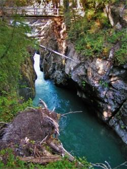 Upper Christine Falls with Footbridge in Mt Rainier National Park 2traveldads.com