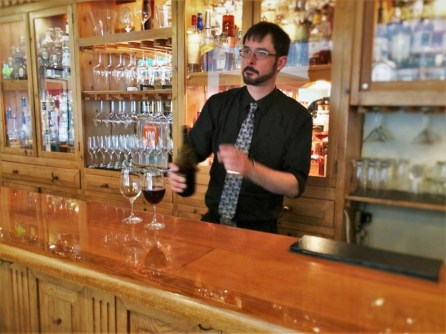 Bar tender in Carter House Inn Eureka 1