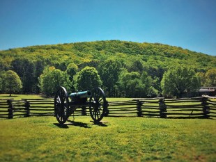 Cannon at Kennesaw Mountain National Battlefield 2traveldads.com
