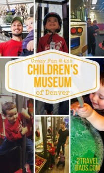 The Children's Museum of Denver is wild with kids!! But it's tons of fun and is beyond engaging. See what awesome stuff will inspire your kids! 2traveldads.com