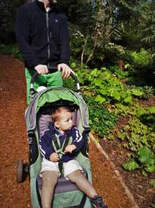 Chris Taylor and TinyMan at Bloedel Reserve Bainbridge Island 5