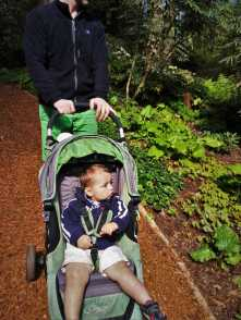 Chris Taylor and TinyMan at Bloedel Reserve Bainbridge Island 5