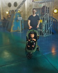 Chris Taylor and TinyMay at Denver Downtown Aquarium 1
