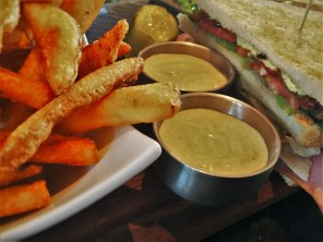 Fries and Jalepeno Ranch at Fireside Lounge at Inverness Hotel Denver Colorado 1