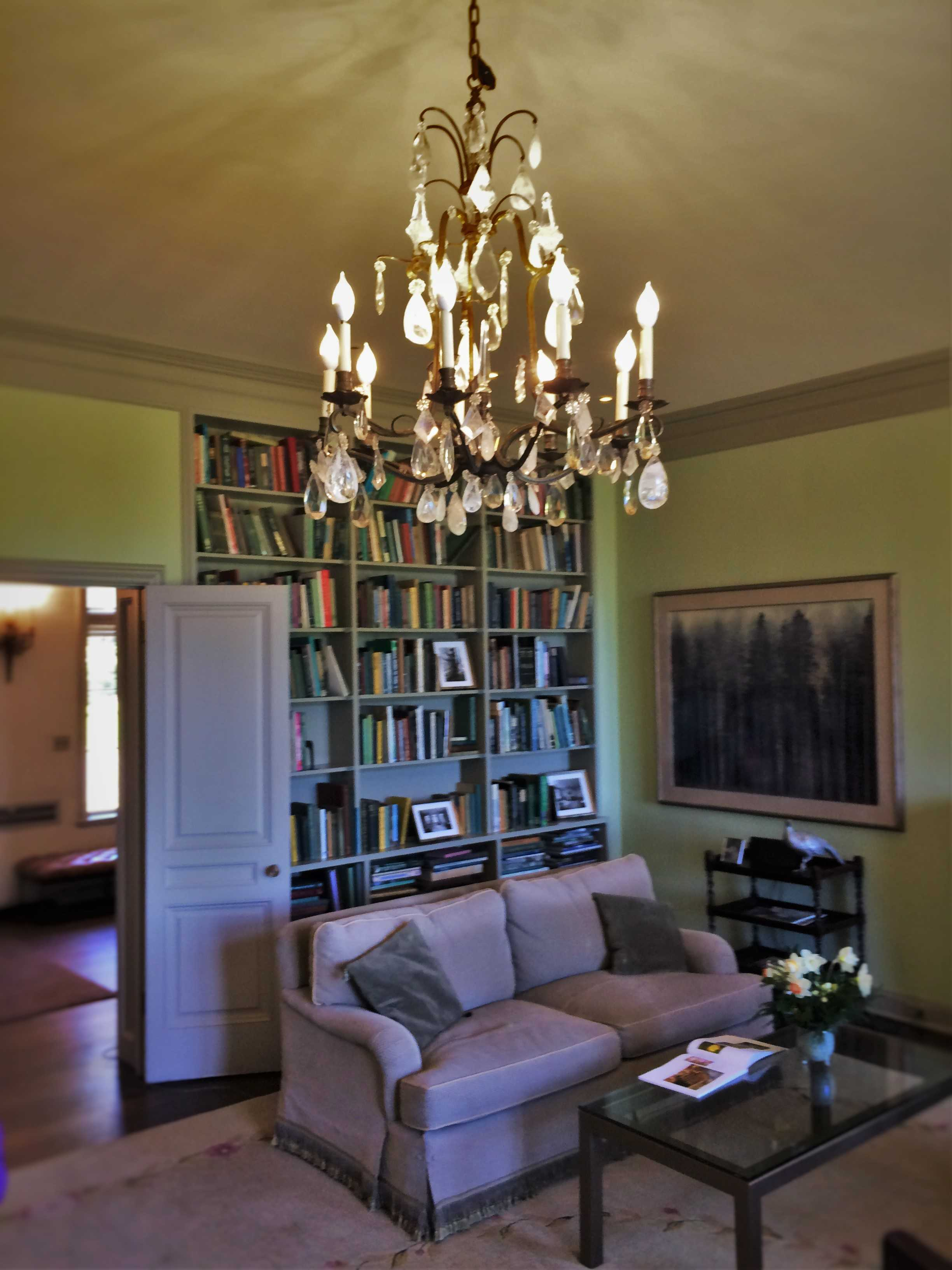 Inside Mansion at Bloedel Reserve Bainbridge Island 3