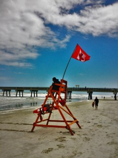 Lifegaurd at Jacksonville Beach Florida 1