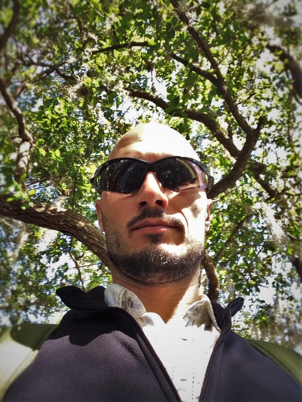 Rob Taylor in Memorial Riverfront Park Neighborhood of Avondale Jacksonvile Florida 1
