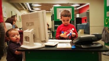 Taylor Kids in Vet Center at Childrens Museum of Denver 1