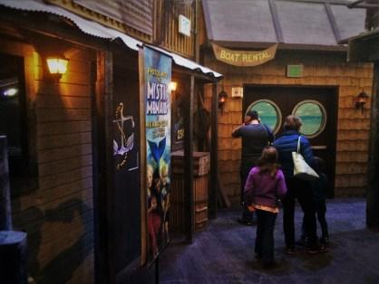 Wharf Themed area at Denver Downtown Aquarium 1