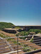 Bunkers at Golden Gate Bridge from Welcome Center GGNRA