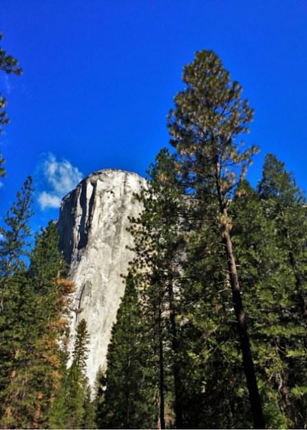 El Capitan from Valley Floor in Yosemite National Park 2traveldads.com