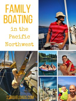 Boating in the Pacific Northwest is an awesome family activity. We love to sail, speed around, and play in the water. See what tips and resources we have for a great time on the water! 2traveldads.com