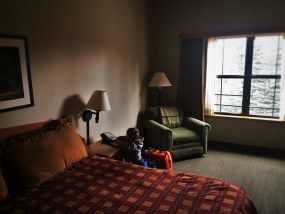 Hotel Room at Wuksachi Lodge in Sequoia National Park 1