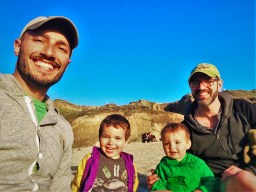 Taylor Family at Bodgea Head Bodega Bay 1
