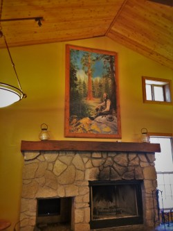 John Muir Painting in John Muir Lodge in Kings Canyon National Park 1
