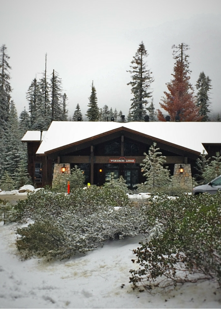 Snow at Wuksachi Lodge Sequoia National Park 2traveldads.com