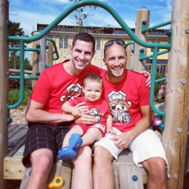 Daddy Papa LittleMan matching