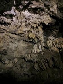 Stalactites inside Oregon Caves National Monument