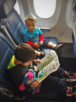 Taylor Kids on Flight