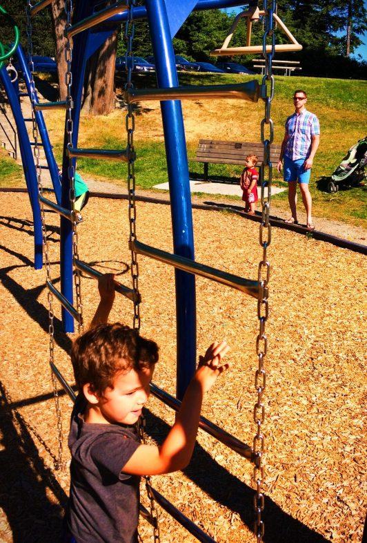 Taylor Family at Washington Park Anacortes 1
