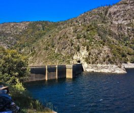 Dam at Hetch Hetchy Yosemite National Park 2