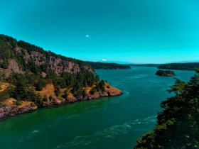Passage at Deception Pass State Park Whidbey Island 1