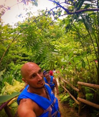 Rob Taylor At the Blue Hole St Anns Ocho Rios Jamaica 2