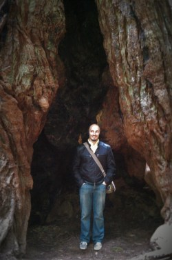 Rob Taylor in Redwood trees Muir Woods National Monument 2