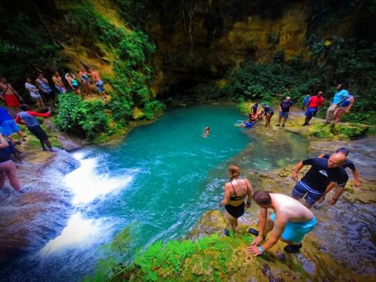 At the Blue Hole St Anns Ocho Rios Jamaica 7