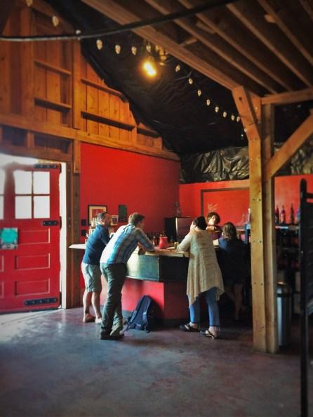Tasting Room at AniChe Cellars Underwood Columbia River Gorge 1