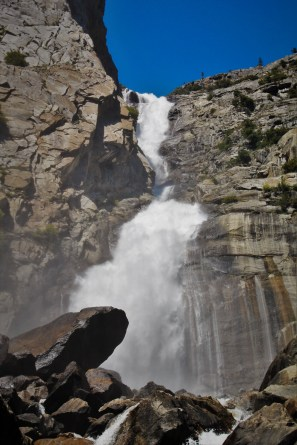 Wapama Falls at Hetch Hetchy Yosemite National Park 10
