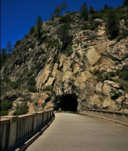 Wapama Tunnel at Hetch Hetchy Yosemite National Park 1