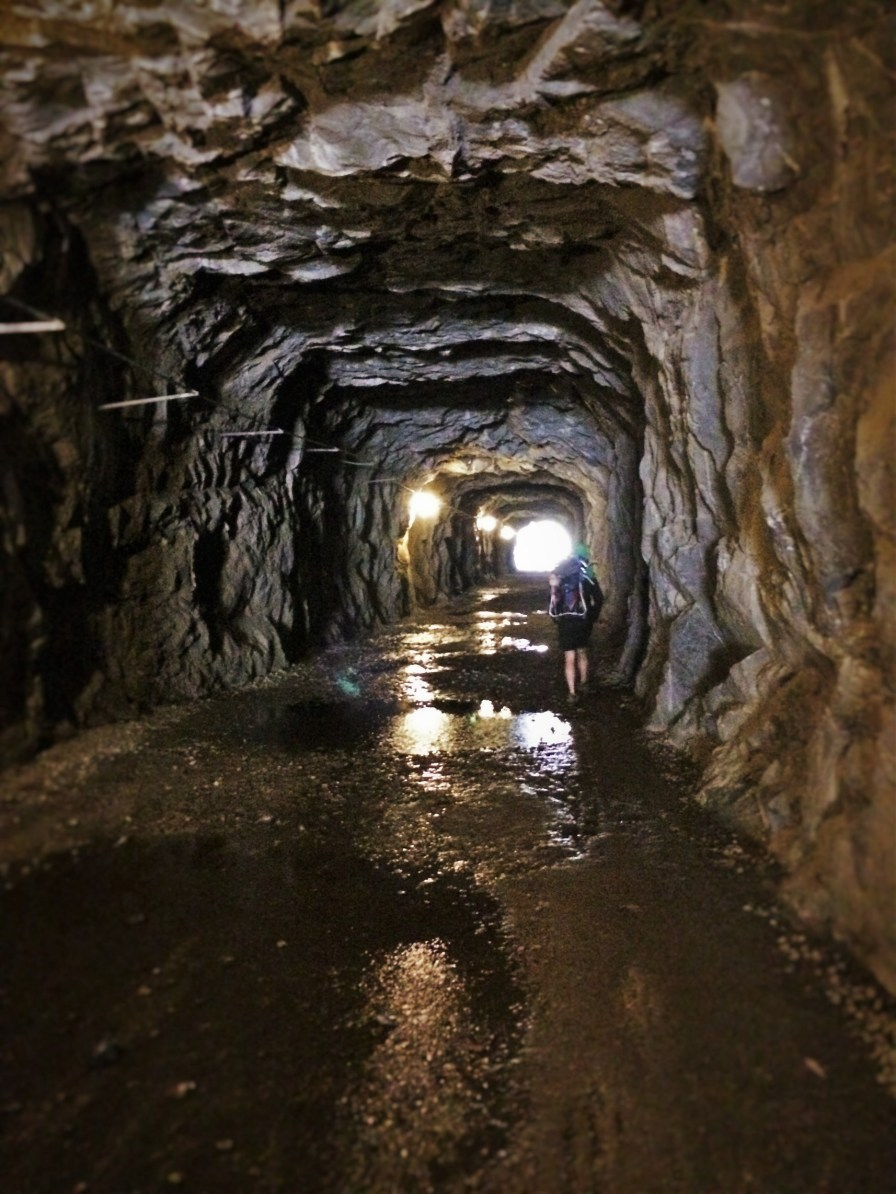 Wapama Tunnel at Hetch Hetchy Yosemite National Park 2