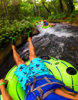 Rob Taylor Floating the White River Ocho Rios Jamaica 1