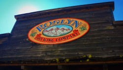 Roslyn Brewing Co sign1