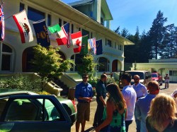 Pretty Fork Destination Dining guests at Rosario Resort Orcas Island 1