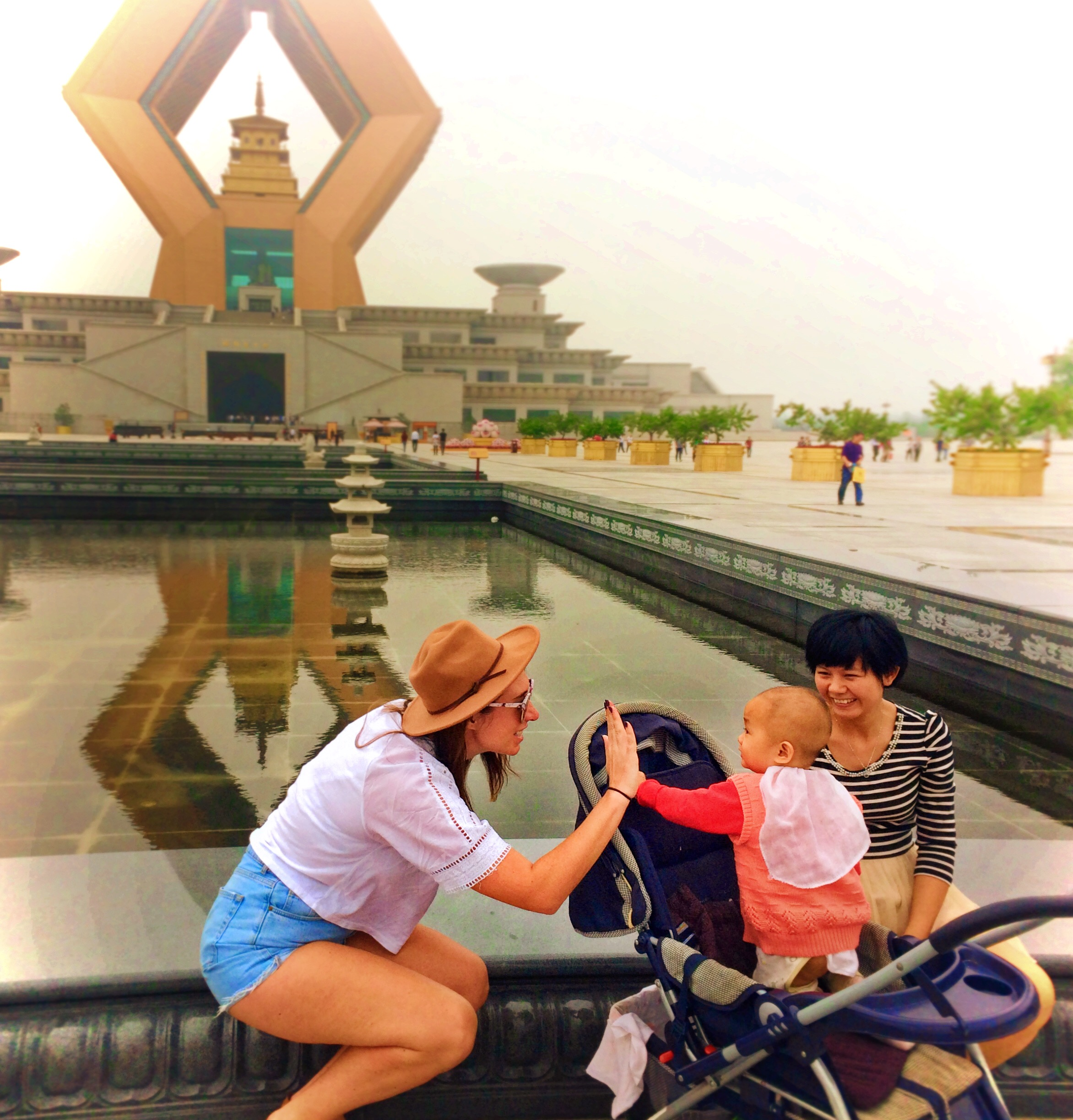 Sarah Coffee With a Slice of Life at Famen Temple Shaanxi China