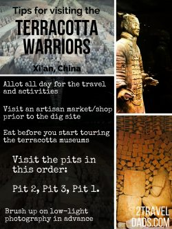 The archaeological dig site of the terracotta warriors is more vast and spectacular than expected. Tips and what to expect when visiting Xi'an, China. 2traveldads.com