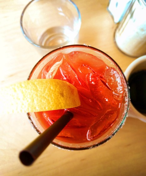 Bloody Mary at Bijou Cafe Portland restaurant 1