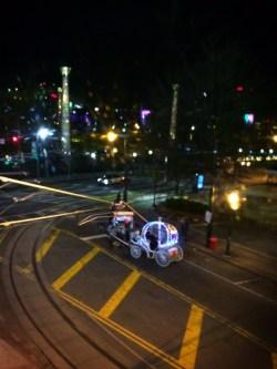 Cinderella Carriage at Skyview Atlanta ferris wheel at night 1