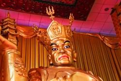 Golden Buddha at Famen Temple Baoji 4