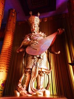 Golden Buddha at Famen Temple Baoji 7