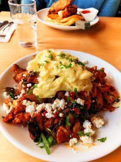 Harissa cauliflower scramble Bijou Cafe Portland 1