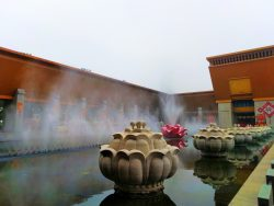 Lotus Fountains at Famen Temple 1