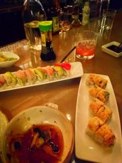 Rainbow Rolls at Bamboo Sushi Portland 1