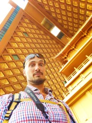 Rob Taylor in top of Hegashi Dagoba Famen Temple 2