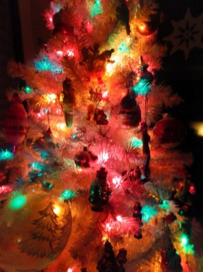 our family christmas tree gets more colorful every year - Fake White Christmas Tree