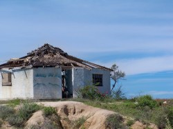 Old Building at Playa Pacific Todos Santos Baja California Sur 1